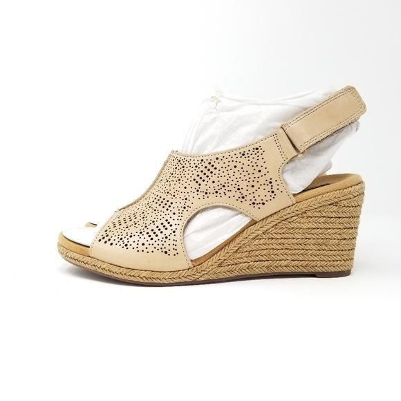 0fae75fdec1 Clarks Lafley Rosen Women's Platform Sandal NWT